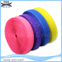 Colorful hook and loop tape