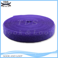 Purple hook loop tape